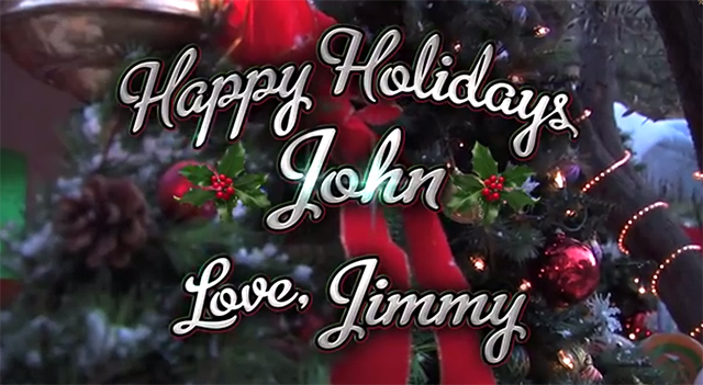 Jimmy Kimmel Pranks John Krasinski & Emily Blunt by Covering the Couple's Home With Holiday Decorations