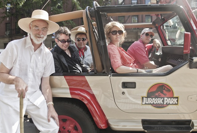 Jurassic Park Recreated in Real Life at Brooklyn's Prospect Park by Improv Everywhere