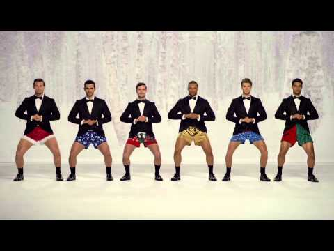 Hunks in Boxer Shorts Play 'Jingle Bells' With Their Man Bells in New Kmart Christmas Ad