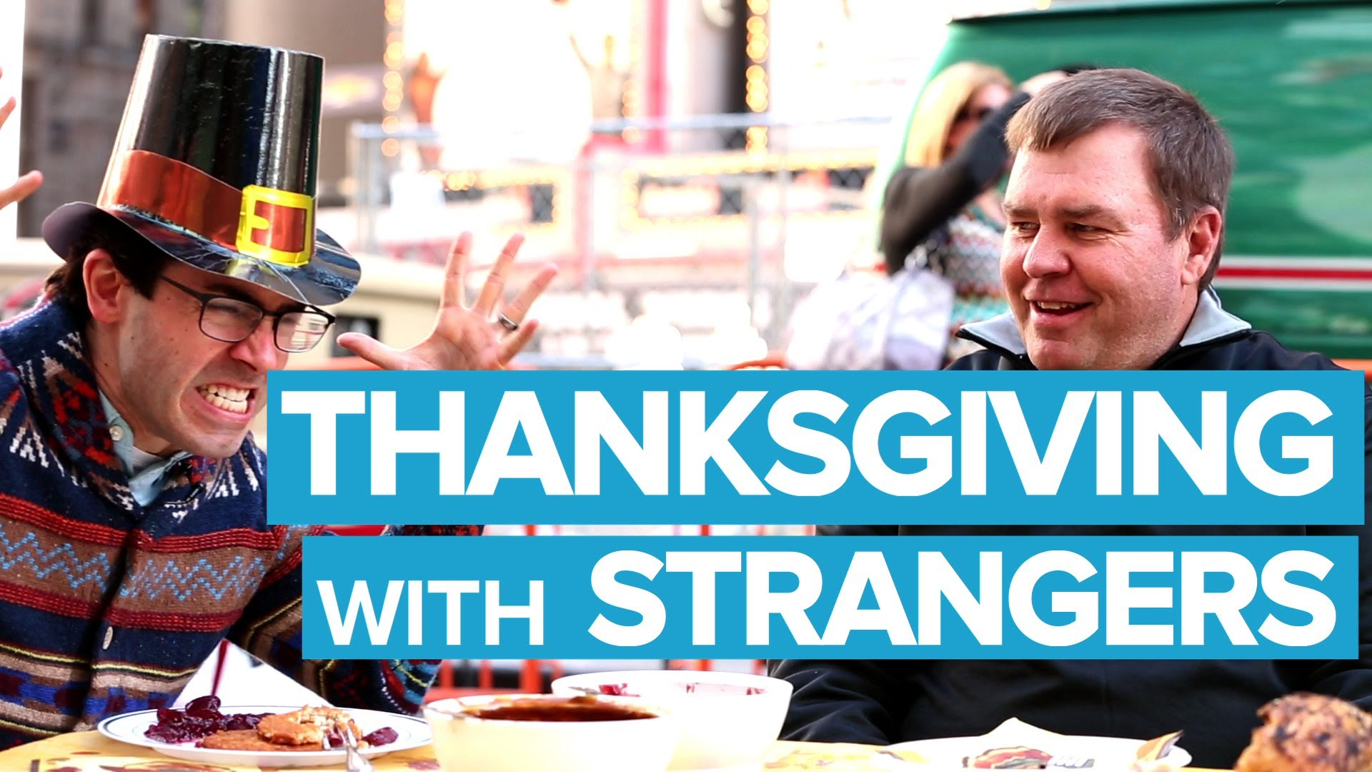 3ce8ae22b13 Mark Malkoff Eats Thanksgiving Dinner With Strangers in Time Square