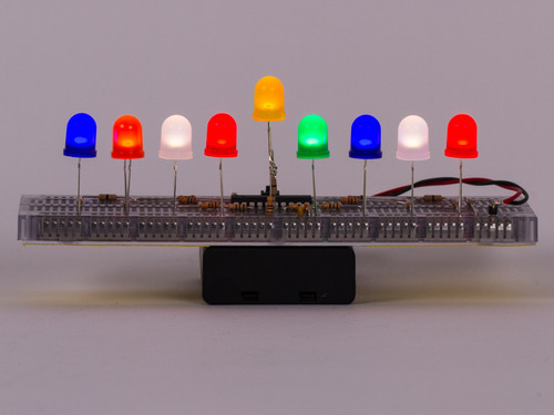 Color LED Menorahs