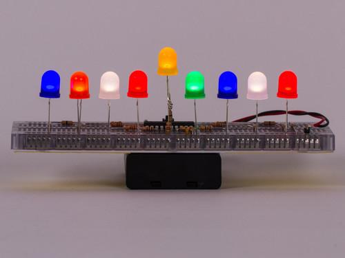 Color LED Menorahs