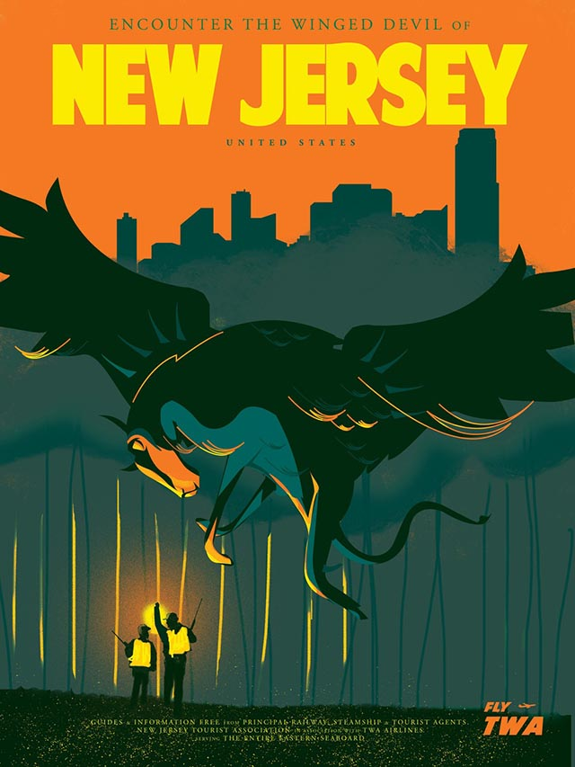 The Winged Devil of New Jersey