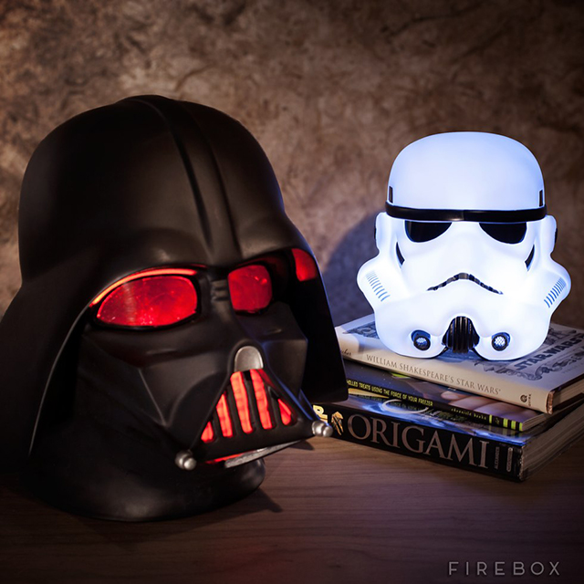Star Wars Darth Vader and Stormtrooper Mood Lights