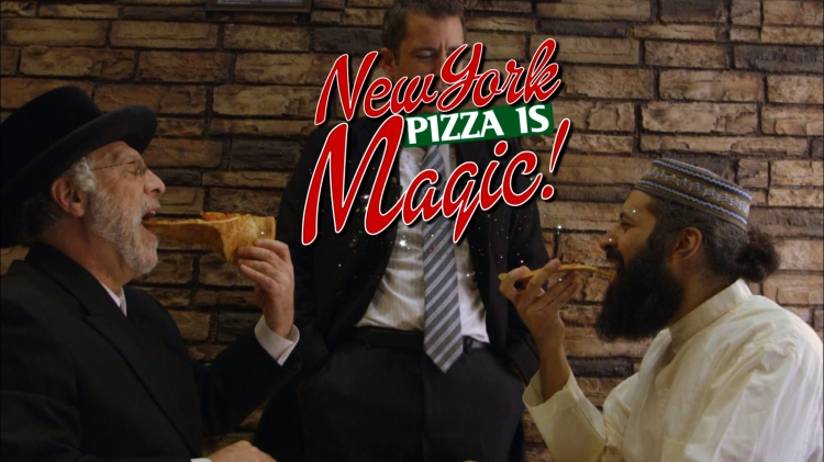 Jason Jones of The Daily Show with Jon Stewart Shows Why New York Pizza is Magic