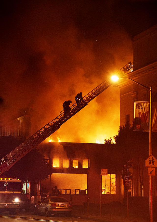 Internet Archive damaged by fire