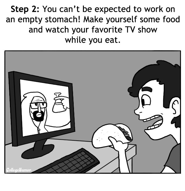 How to Get Nothing Done