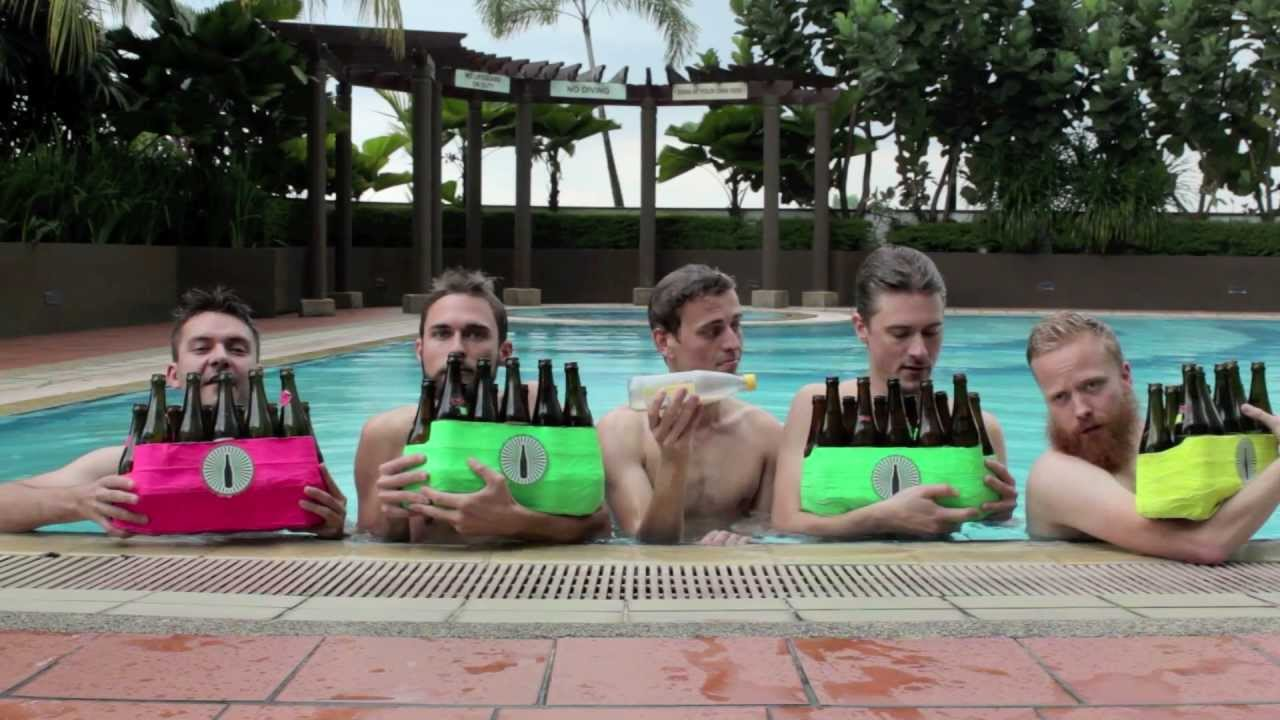 The Bottle Boys Perform a Cover of 'The Little Mermaid' Song 'Under the Sea' Using Only Bottles