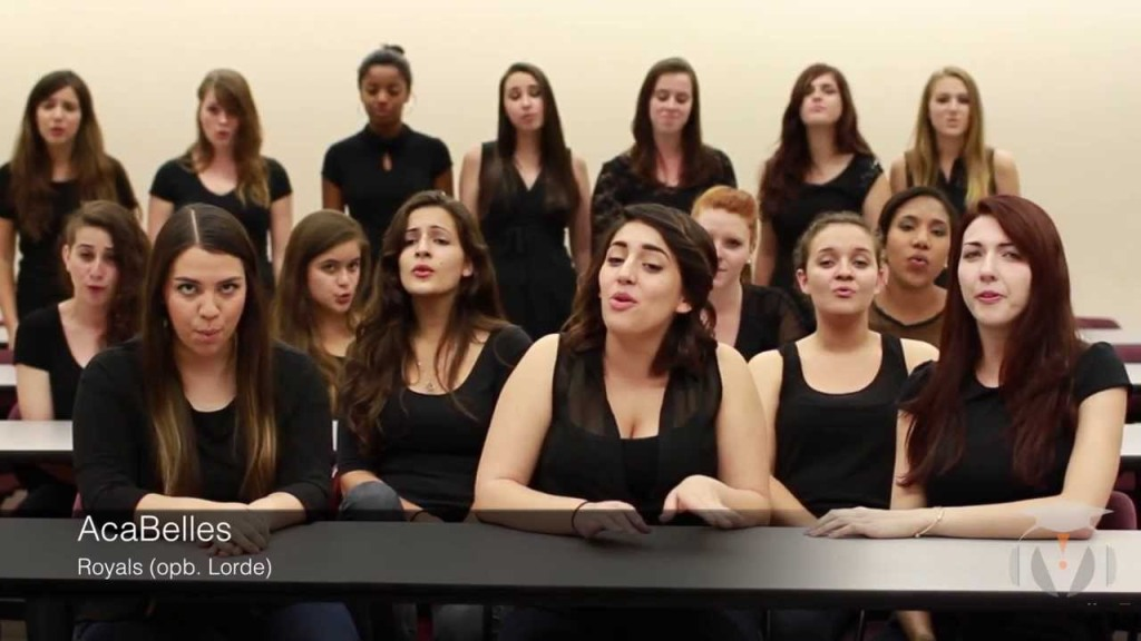 The Florida State University AcaBelles Perform Wonderful A Capella Version 'Royals' By Lorde