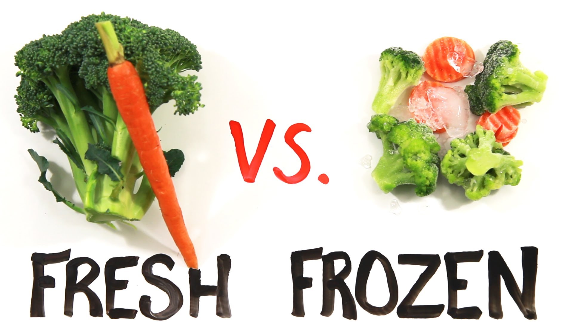 The Nutritional Benefits of Fresh vs. Frozen Food by AsapScience
