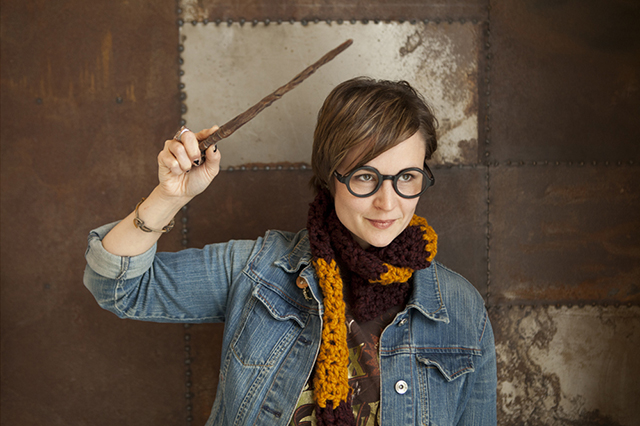 Crocheted Harry Potter House Scarves