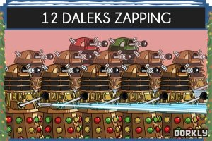 The 12 Days of Doctor Who
