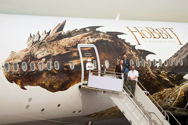 Air New Zealand: Smaug