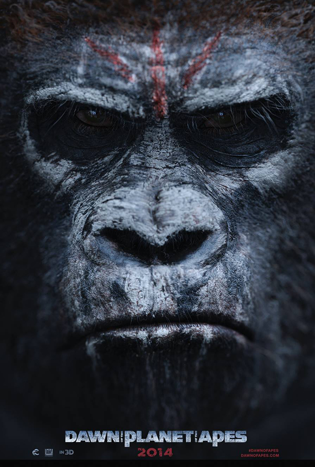Dawn of the Planet of the Apes Poster 4