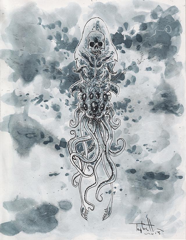 DeathSquid by Ben Templesmith