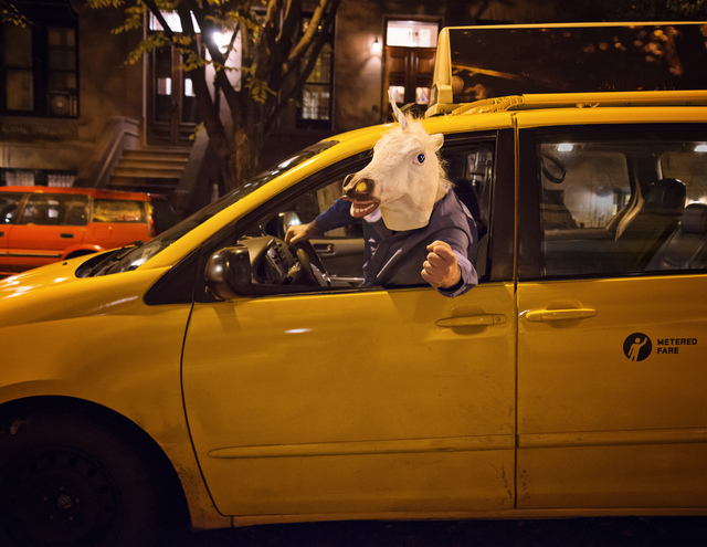NYC Taxi Drivers 2014 Calendar