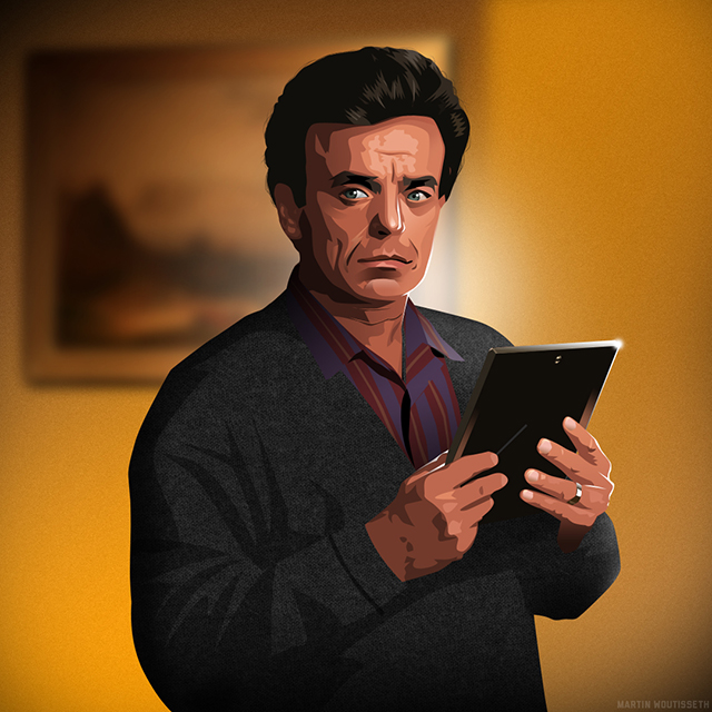 Twin Peaks Illustrated - Leland Palmer