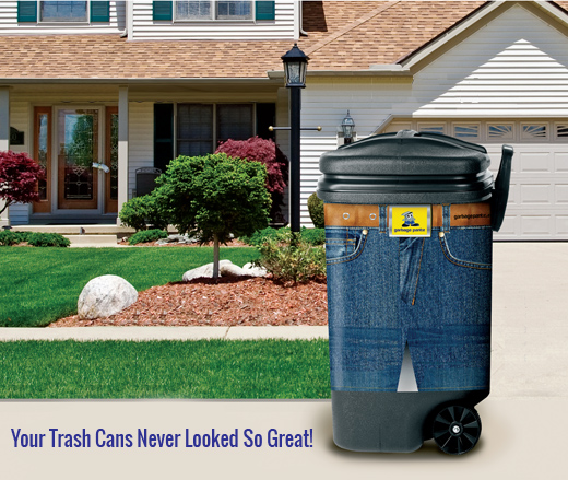 Garbage Pantz Decorative Slip On Trash Can Covers That