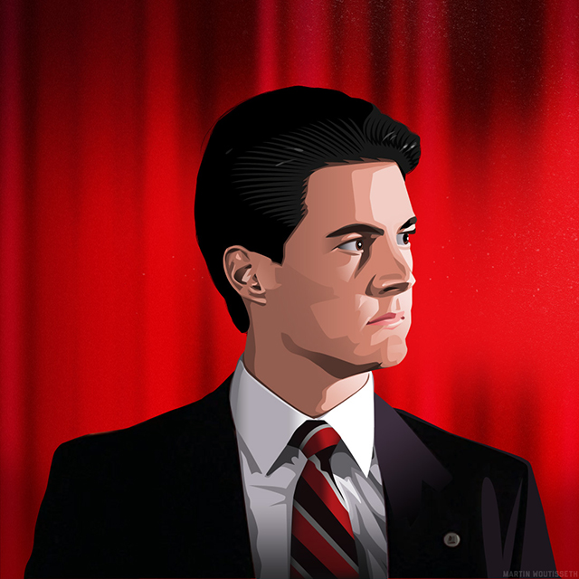 Twin Peaks Illustrated - Special Agent Dale Cooper
