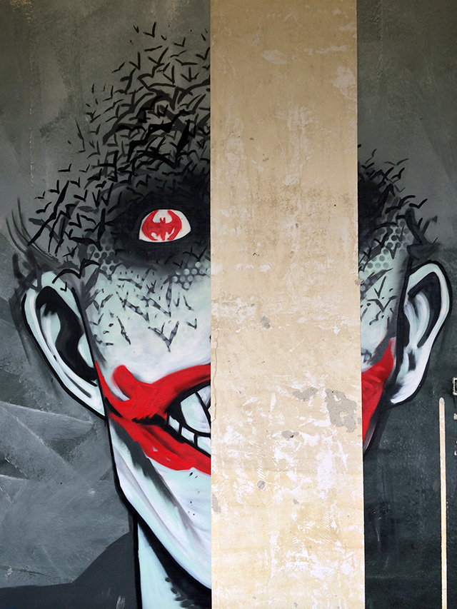 Batman Graffiti