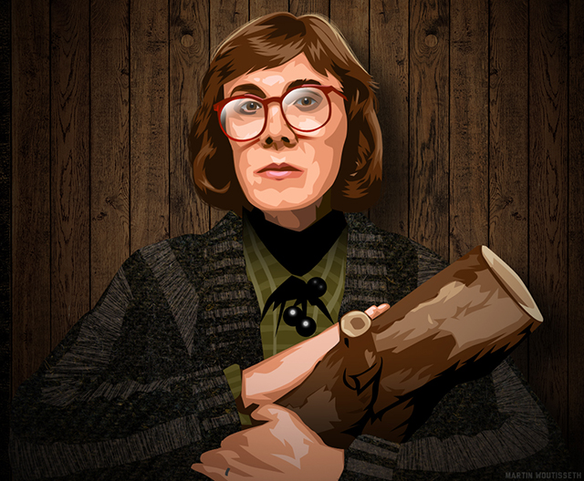 Twin Peaks Illustrated - Margaret Lanterman (The Log Lady)