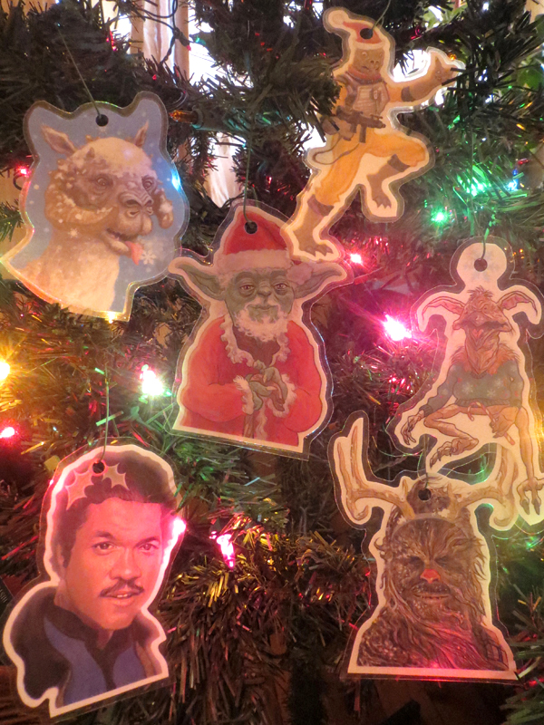Stars Wars Christmas Ornaments