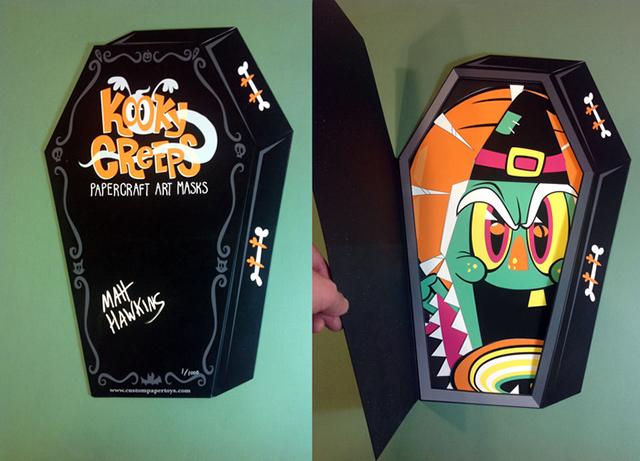 Kooky Creeps coffin portfollio
