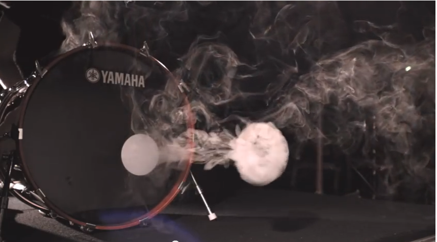 How To Blow Smoke Rings Using a Bass Drum