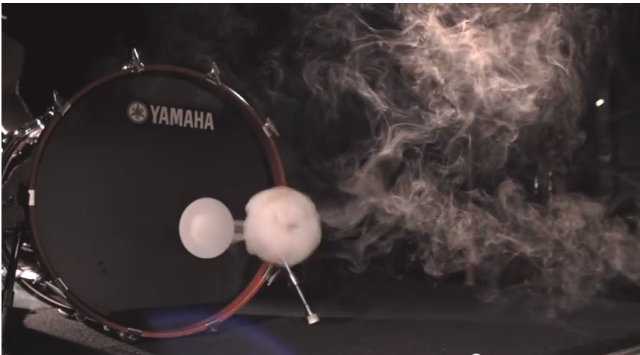 Bass Drum Smoke Ring