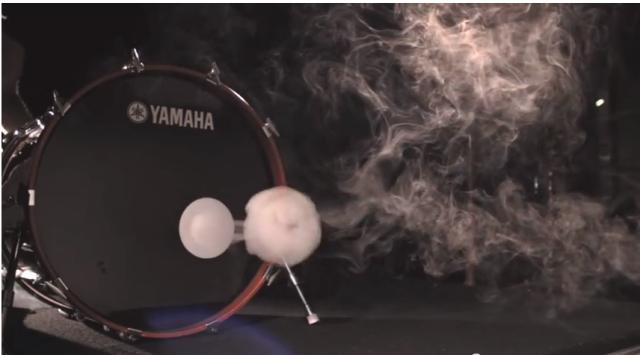 Bass Drum Smoke Ring