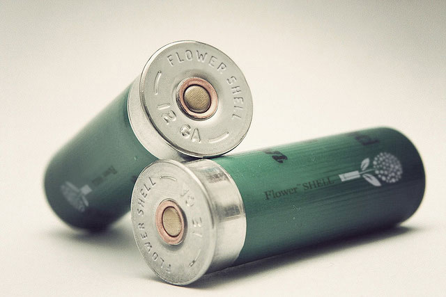 Flower Shell Lets You Plant Seeds Using a 12-Gauge Shotgun