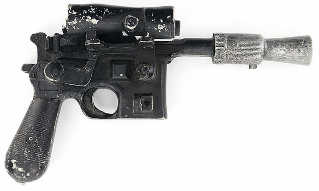 Han Solo's Blaster From Star Wars To Be Sold at Auction