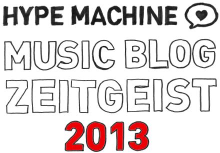 Hype Machine Zeitgeist 2013
