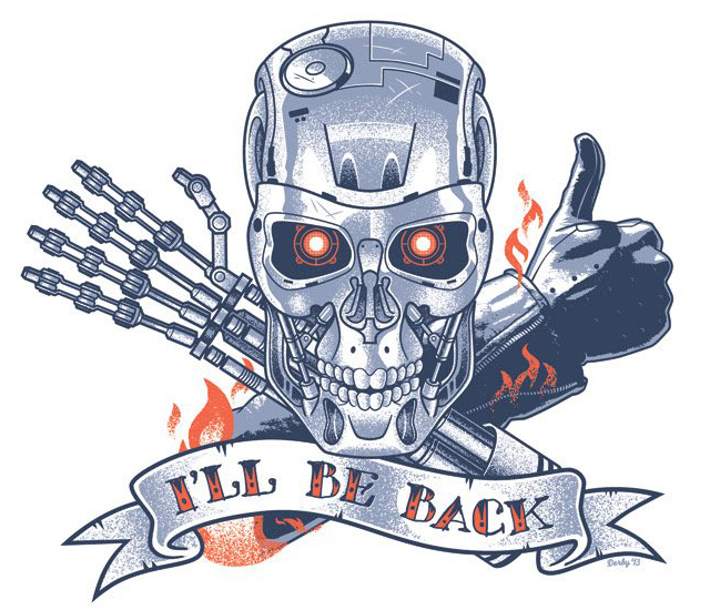 I'll Be Back by Scott Derby
