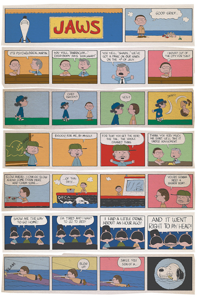 Jaws/Peanuts Mashup by Charles Forsman