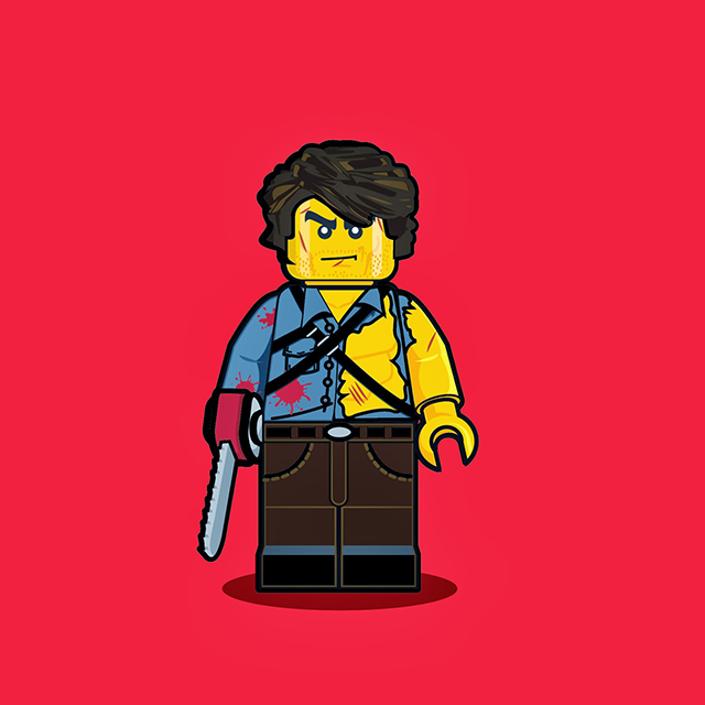 Lego Men - Ash from The Evil Dead