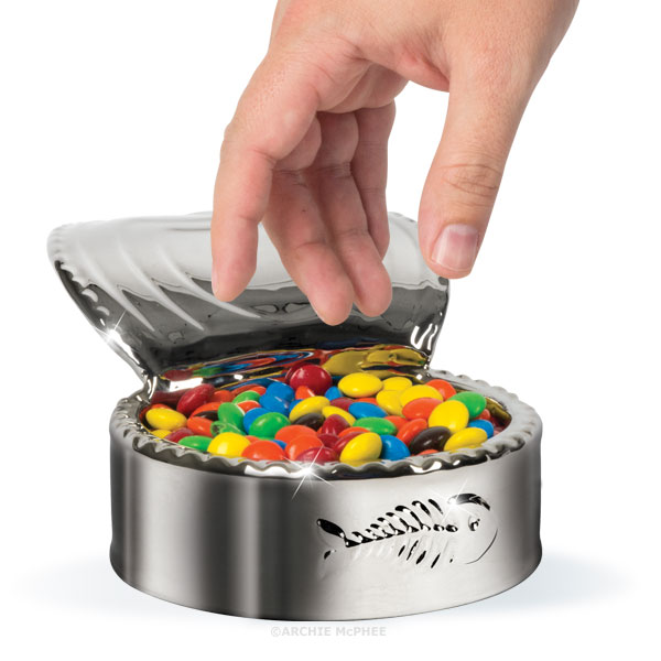 Luxury Cat Dish M&M's