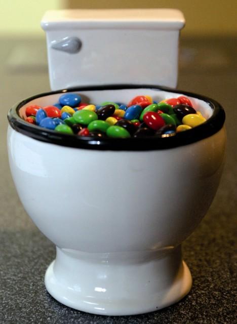 M&M's Toilet Mug