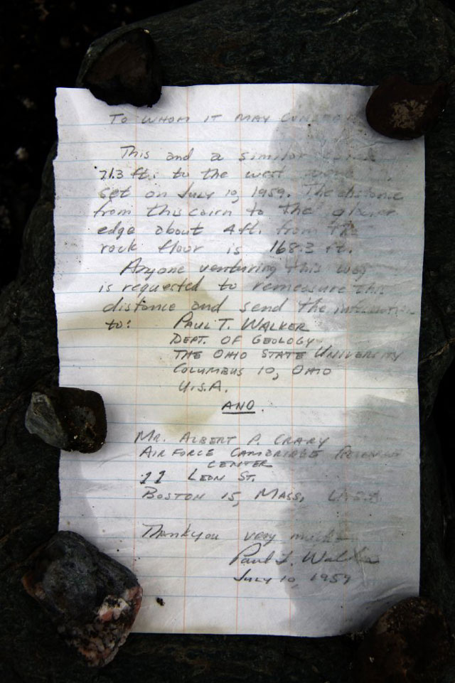 Message in a Bottle Found Near Canada Glacier