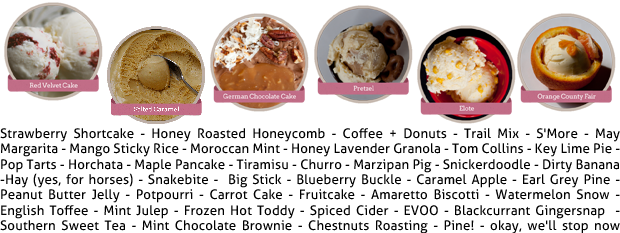 MilkMade Ice Cream Flavors