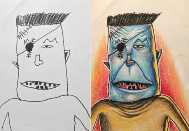 One Eyed Frankenstein