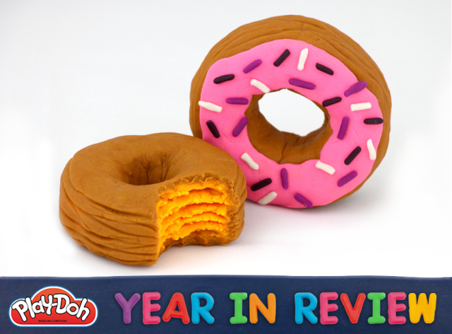 Play-Doh Cronuts