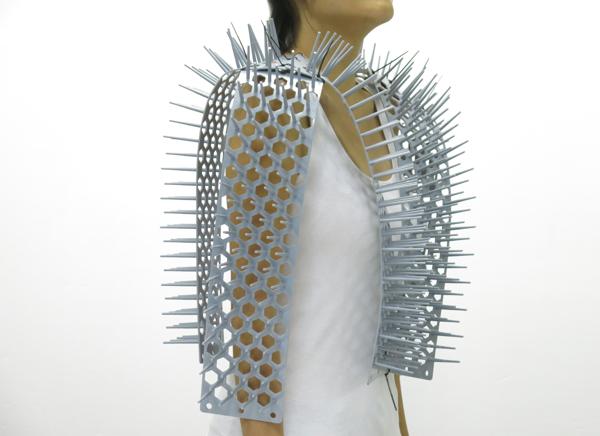 Side of vest