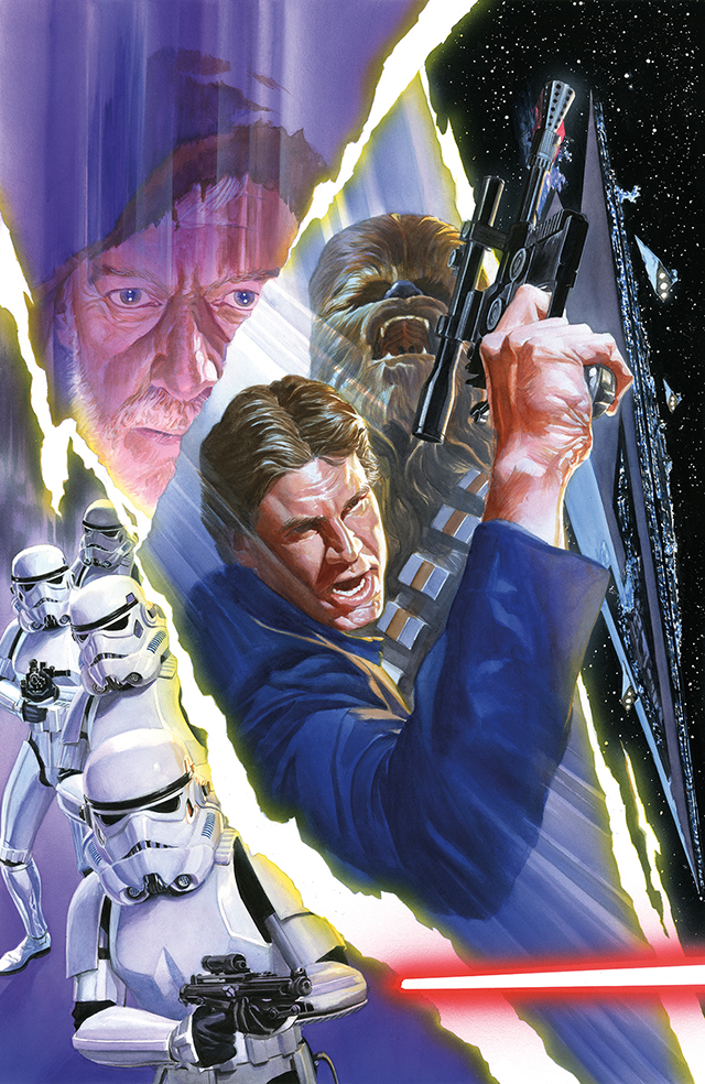 Star Wars #3 by Alex Ross