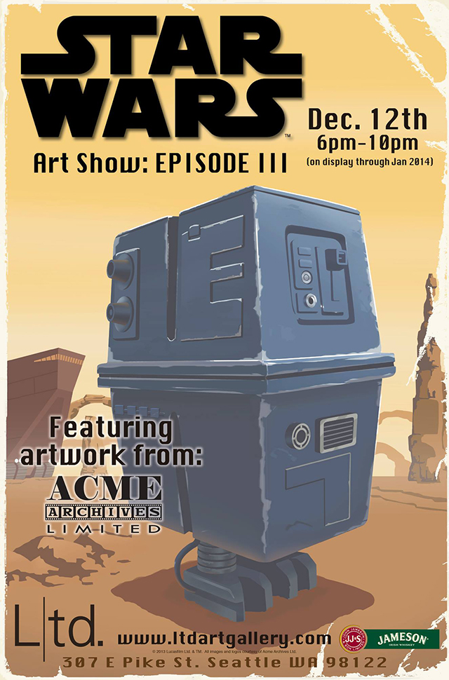 Star Wars The Art Show Episode III