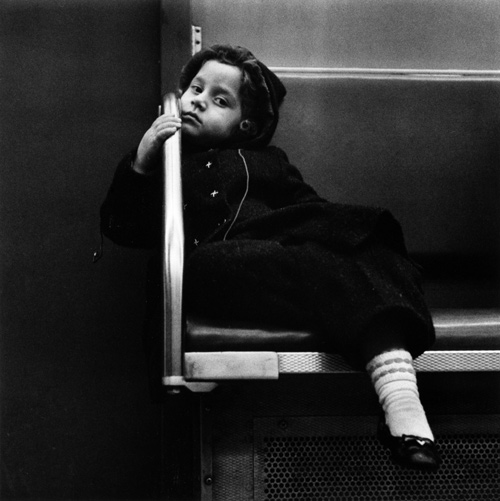 Girl on Subway 1960