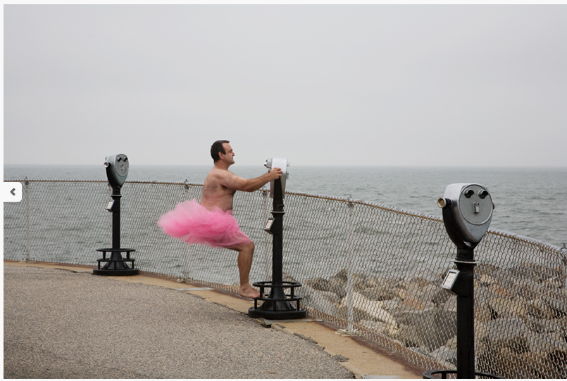 Photographer Wears Pink Tutu to Amuse His Wife and Raise Money for Breast Cancer Causes