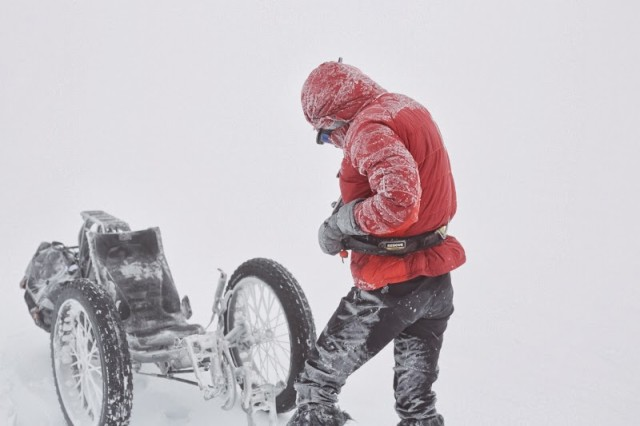 British Woman Cycles to South Pole