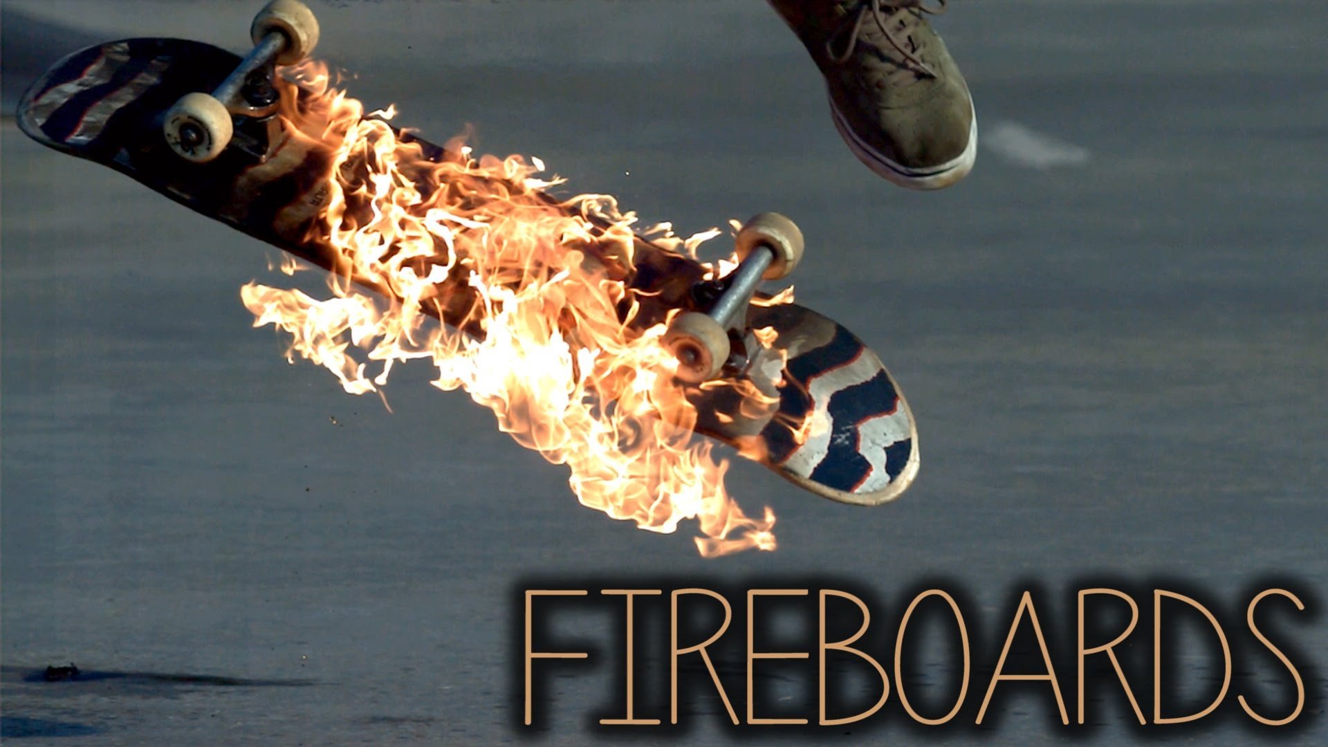 Amazing Slow Motion Video of Fiery Skateboard Tricks