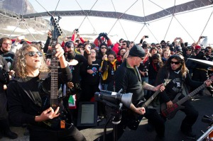 Metallica 'Freeze 'Em All' Show in Antarctica